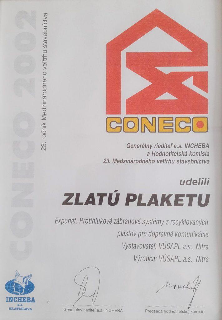 história VÚSAPL 2002